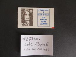 FRANCE N°2873a ISSU DE CARNETS COTE 13 EUROS VOIR SCAN - France
