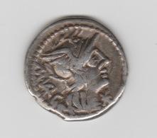 REPUBLIQUE ROMAINE DENIER EN ARGENT 130 AV. J.-C. - 1. Röm. Republik (-280 / -27)