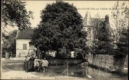 Cp Saint Georges Loir Et Cher, La Chaise, Le Prieure - Autres Communes
