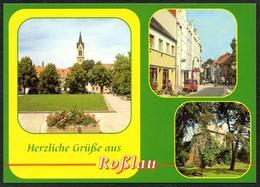 D1628 - TOP Roßlau - Verlag Bild Und Heimat Reichenbach - Qualitätskarte - Rosslau