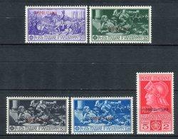Tripolitania 1930. Sass 64-68. S 17 VC 175€. ** MNH. - Tripolitania