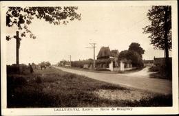 Cp Lailly En Val Loiret, Route De Beaugency - Francia