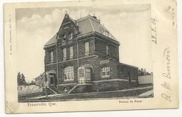 Fraserville : Bureau De Poste - Québec - Château Frontenac