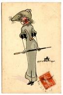 Femme En Habit De Souris -  Voir Scan - 1900-1949