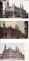277269Amsterdam, Hoofdpostkantoor (3 Kaarten) (zie Hoeken En Achterkant) - Amsterdam