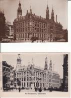 277271Amsterdam, Hoofdpostkantoor (2kaarten) (zie Hoeken En Achterkant) - Amsterdam