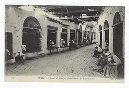 CPA -Tunisie - Tunis - Souk El Bladja - Fabricants De Babouches - Túnez