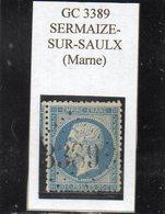 Marne - N° 22 Obl GC 3389 Sermaize-sur-Saulx - 1862 Napoléon III