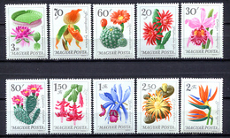 Hungary 1965 Hungría / Flowers MNH Flores Blumen Fleurs / Cu3009  5-42 - Vegetales