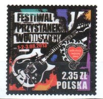 Poland  2013 - Woodstock Open Air Festival - Mi.4622 - Used - Gebruikt