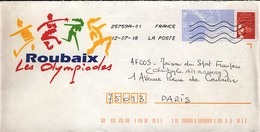 France 2018 : PAP Roubaix Les Olympiades (769) - Stamps