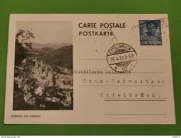 Carte Postale, Clervaux. Ettelbruck 1938 - Postwaardestukken