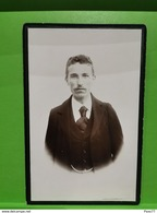 Photo Original, Antoine Hirsch, Directeur écoles Des Artisans Au Luxembourg - Cartes Postales