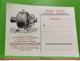 Carte Postale, Pierre Forty, Constructeur Esch-Alzette - Ganzsachen