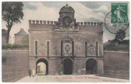CPA Lille, Porte De Roubaix, Gel. 1912 - Lille