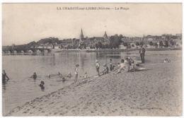 CPA La Charité Sur Loire, La Plage, Ungel. - La Charité Sur Loire
