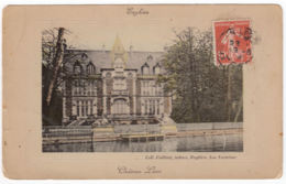 CPA Enghien Les Bains, Chateau Leon, Gel. - Enghien Les Bains