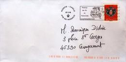 Monaco 2019 : Flamme Printemps Des Arts De Monte Carlo (774) - Storia Postale