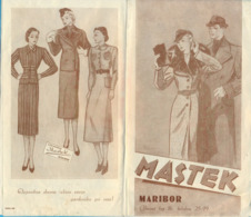 """Kingdom YU. Slovenia. Maribor. The """"Mastek"""" Reklam. - Théatre & Déguisements"""