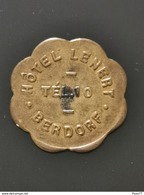 Luxembourg Jeton, Hôtel Lenert. Berdorf - Jetons & Médailles