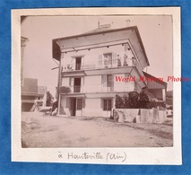 Photo Ancienne - HAUTEVILLE ( Ain ) - Belle Maison à Identifier - Vers 1900 - Architecture Histoire Patrimoine - Fotos