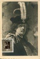 50148 Liechtenstein, Maximum 1950 Painting Of Rembrandt, Self Portrait - Cartes-Maximum (CM)