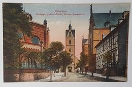 Judaika WW1 WWI Jewish Germany Synagogue PADERBORN 1918 Judaika Juive Juif Rare - Jewish