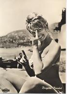 BRIGITTE BARDOT, Cartolina Originale Bromofoto - Actors