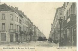 CP.Bruxelles-Schaerbeek (ex-Collection DELOOSE) -  La Rue De Brabant + Tram - W0160 - Schaarbeek - Schaerbeek