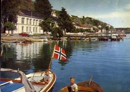Norway - Risor Den Hvite By Ved Skagerak - The White To On The Sager Rack - Formato Grande Viaggiata – E 14 - Norvegia