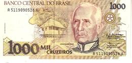 Brazil P.231a 1000 Cruzeiros 1990 Unc - Brazil