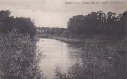 190963Willemstad, Gezicht O. D. Buitensingel Met Gracht. - Nederland