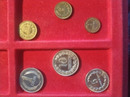 El Salvador 6 Monete Diverse - El Salvador