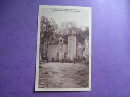 CPA 44 SAINT SEBASTIEN SUR LOIRE VIEILLE FERME DE MALABRY A LA GIBRAYE - Saint-Sébastien-sur-Loire