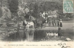 L170A_110 - Environs De Vichy - 110 Route Des Malavaux - Passage D'un Gué - Carte Précurseur - Vichy