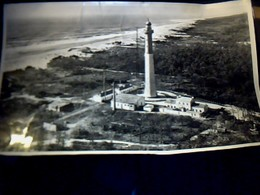 Photo Pédagogique 27X45 CM Env Le  Phare  De La Courbe Charente Maritime En 1958 Documentation LAPIE A ST Maur Seine - Foto