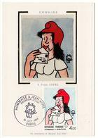 Carte Maximum 1983 : Hommage à Jean Effel  YT 2291 1er Jour 15/10/1983 - 1980-89