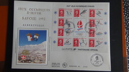 B218 France Année 1992 Belle Enveloppe 1er Jour (dimension 24,5 Cm - 17,7 Cm) - FDC
