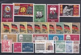 DDR Kleine Verzameling  **, Zeer Mooi Lot K1042 - Timbres