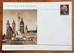 HRADEC KRÁLOVÉ  DOPISNICA CARTOLINA POSTALE REPUBBLICA CECA 1,20 - 1945-1992 Repubblica Socialista Federale Di Jugoslavia
