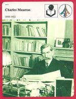 Charles Maurras. 1868-1952. Journaliste, Essayiste, Homme Politique, Poète Français Et Académicien. - Histoire