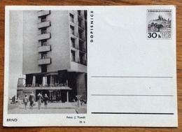 BRNO  DOPISNICE CARTOLINA POSTALE REPUBBLICA CECA 30 H - 1945-1992 Repubblica Socialista Federale Di Jugoslavia