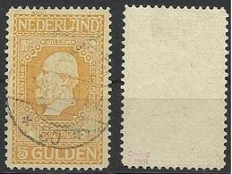 PAYS BAS N° 92 Oblitéré De 1913 - NEDERLAND HOLLANDE - Gebruikt