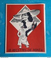 Livret 18 Recettes De Pepita Offert Par Le Rhum Pepita Bordeaux - Publicidad