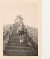 Waterloo , Braine-l'Alleud : Photo L'escalier  Du Lion , - Braine-l'Alleud