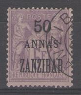 ZANZIBAR:  N°31 Oblitéré      - Cote 125€ - - Zanzibar (1894-1904)