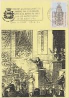 Carte Maximum CONDÉ SUR ESCAUT Télégraphe  CHAPPE Convention Carnot - Conde Sur Escaut