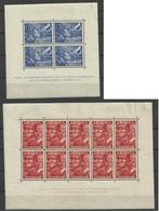 PAYS BAS BF N° 1 ET 2 Neufs Avec Charnière De 1942 - NEDERLAND HOLLANDE - Blocchi