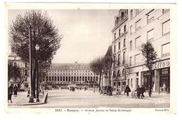Rennes - Avenue Janvier Et Palais St Georges - Rennes