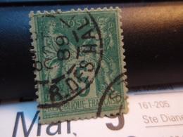 Timbre Sage  5 C Oblitéré. 1889 - 1876-1898 Sage (Type II)